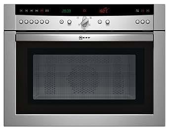 Neff C57M70N0 - NEFF C57M70N0 - Four micro-ondes avec grill - intégré(e) - 36 litres - 1000 W - acier inoxydable