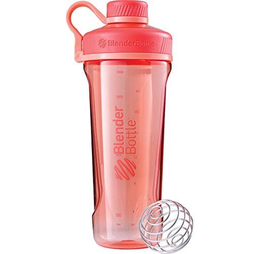 Blender Bottle Radian Tritan Shaker per proteine bottiglia d'acqua per prodotti dimagranti con pallina BlenderBall 940ml
