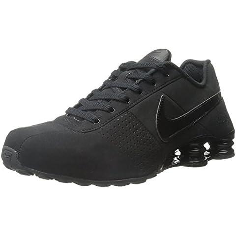 Shox Deliver Bianco / Argento White / Metallic / Black scarpe da corsa di cuoio 7.5 M Us