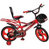sintex Kids Cycle Sports with inbuilt Carrier for Boys & Girls 16T - Age Group 5-9 Years semi Assembled mag Wheel/tubeless tyre.