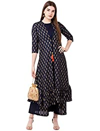 CRAZORA Women's Cotton Readymade Salwar Suit