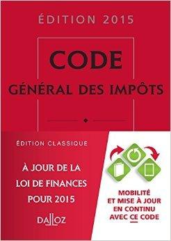 Code général des impôts 2015 de Gérard Zaquin ( 29 avril 2015 )