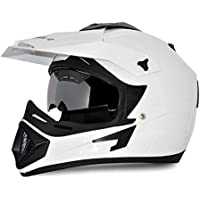 Vega - OR-D/V-W_M Off Road D/V White Helmet-M