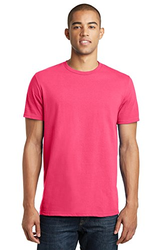 District® - Young Mens The Concert Tee® DT5000 Neon Pink XL