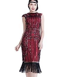 c77a0f3eddb FAYBOX BRIDAL - Vestido - Noche - Cuello redondo - Sin mangas - para mujer