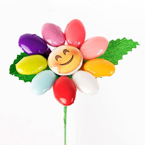 Margherita emoticon - fiore di confetto - confetti pelino di sulmona