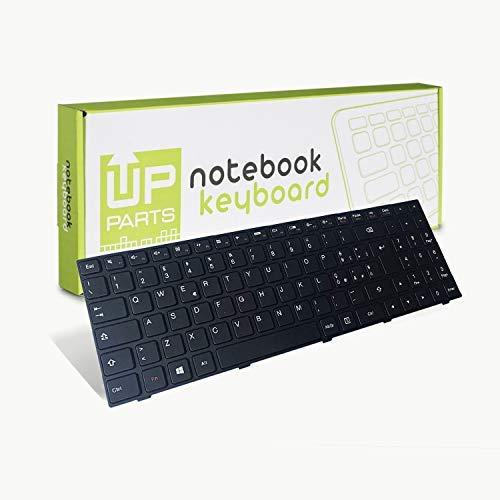 UP PARTS® Teclado Ordenador portatil UP-KBL150-ES per Lenovo IdeaPad 100-15 100-15iby 100-15ib b50-10 Nera con Frame - Disposición ESPAÑOL - Original