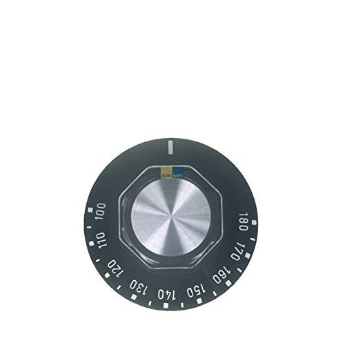 Knebel Drehknopf 50mm schwarz für Thermostat 100-180° Fritteuse EGO 00.00524.813