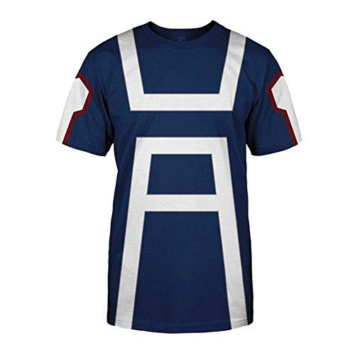 Blau Hoodie Cosplay Jacke Kapuzenpullover Sweatshirt Kostüm Für Damen Herren Unisex Reißverschluss Mantel Blau 3 XXXX-Large