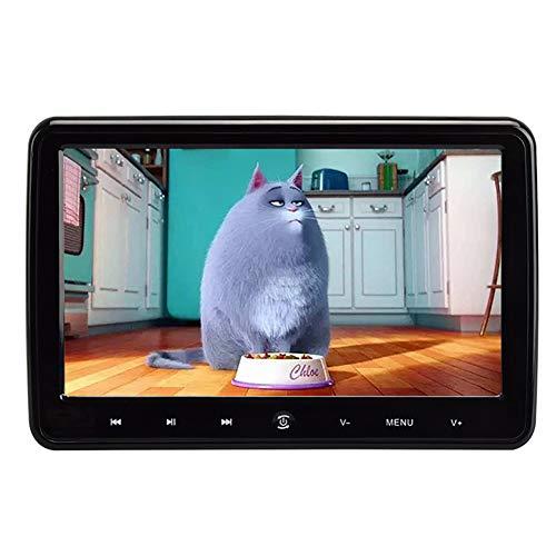 HANG Auto Kopfstütze DVD-Player für Kinder, 10,1-Zoll-Monitor mit LCD-TFT-Bildschirm Unterstützung AUX Sync-Bildschirm Region Free AV IN/Out USB/SD Auto Resume (Region Free Blu-ray-player)