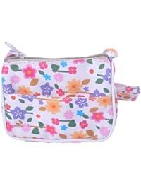 Girl Floral Purse Baby Small Handbag Daisy Flower Design Boho Style