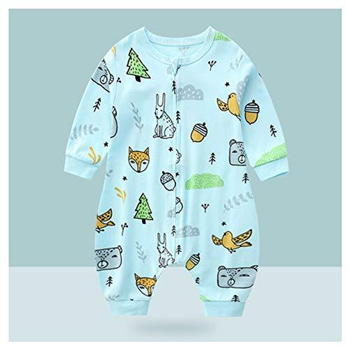 WMYJXD Babyschlafsack, Neugeborene Schlafsack, Vier Jahreszeiten Universal-Baumwoll Schlafsack, Cartoon, Hautfreundlich, Stilvoll, Komfortabel, Geeignet Für Säuglinge Im Alter Von 0-4,D,83CM