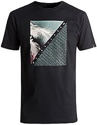 Quiksilver Herren Ss Classic Tee Coast Lines T-Shirt