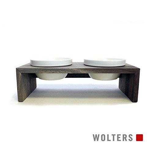 Wolters Gohan Doppelnapf schiefer XS (2 x 0,2 L)