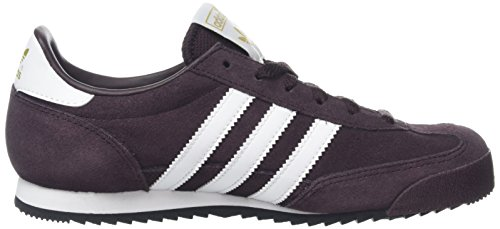 adidas Jungen Dragon Turnschuhe Rot (Night Red/Ftwr White/Core Black)