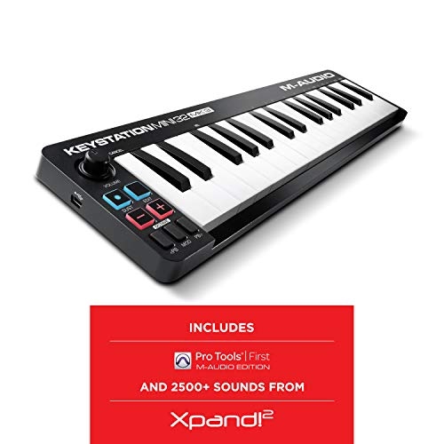 M-Audio Keystation Mini 32 MK3 - Mini Teclado Controlador