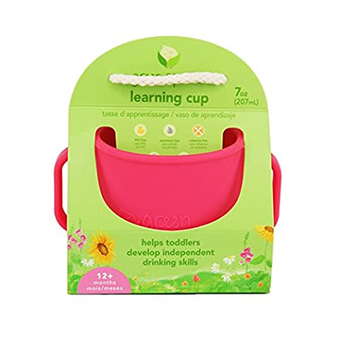 green sprouts Learning Cup (Pink)