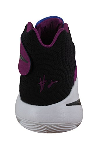 Nike Kyrie 2, Chaussures de Sport-Basketball Homme, 41 EU Blanc (White / Black-Bold Berry-Lyn Bl)