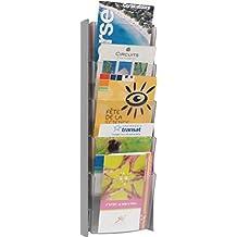 Alba DDPROMM M - Expositor de revistas para pared (formato A5)