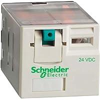 Schneider Electric RPM31BD relè 3Co 15A 24VDC, alimentazione plug-in relè–Zelio rpm–3C/o–24V DC–15a