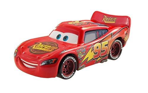 Disney Pixar Cars CKD16 Lightning McQueen Véhicule avec effet de changement de couleur