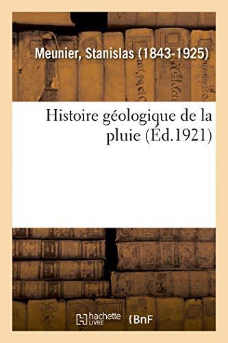 Histoire géologique de la pluie
