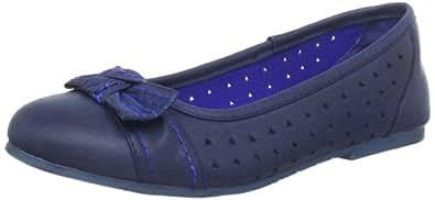 Indigo 422 189 Mädchen Ballerinas, Blau (navy/aqua 883), EU 32