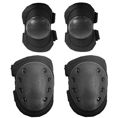 OIUX 4 Unids Codo Y Rodilleras Codo Protector Shin