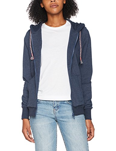 Chiemsee Damen Odetta Hooded Sweatjacket, Dress Blue Mela, L