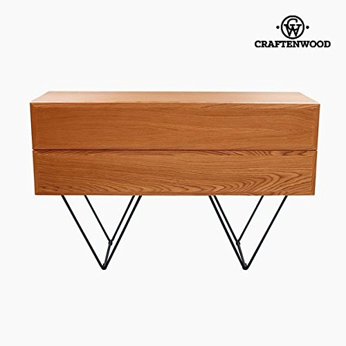 Anrichte Holz Mdf Nussbaumholz (120 x 40 x 76 cm) - Modern Kollektion by Craftenwood