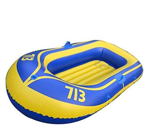 Lvvvs Kayaking verdicken doppeltes Schlauchboot-Hin- und Herbewegungsfloss-treibendes Fischen-Kajak für Zwei