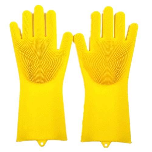 Manopole in silicone multifunzionali con scrubber wash per la pulizia, la casa, la pulizia delle stoviglie, l'autolavaggio, la cura dei capelli degli animali domestici.