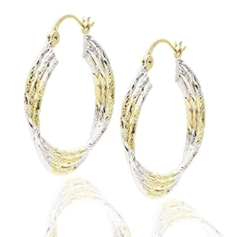 Juvel-Jewelry argent 925/1000 Métal plaqué rhodium