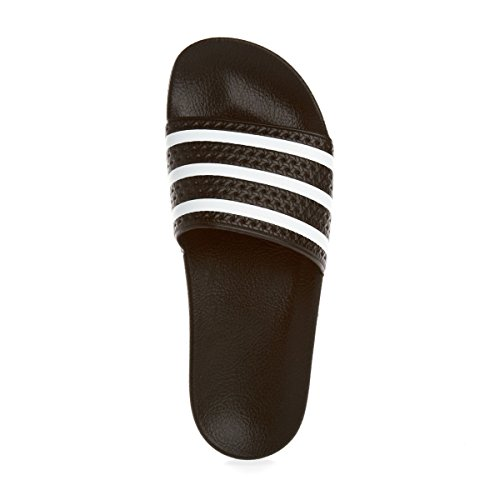 adidas Adilette Scarpe da Spiaggia e Piscina Unisex – Adulto Nero (core black / white / core black)