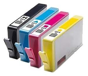 4 non oem ink cartridges 364xl for hp photosmart office. Black Bedroom Furniture Sets. Home Design Ideas