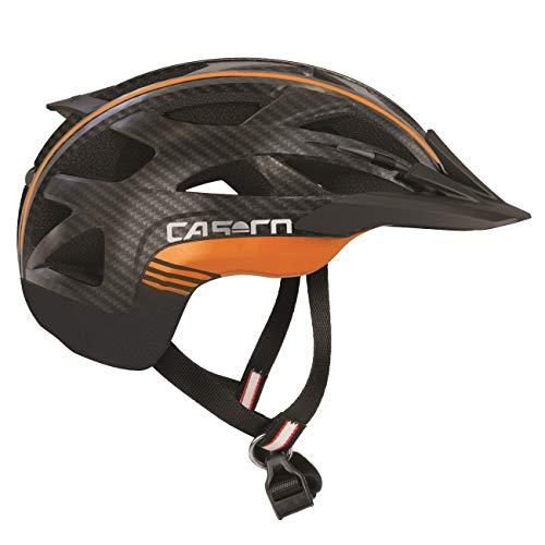 Casco Aktiv-2 L schwarz/ora. carbonprint