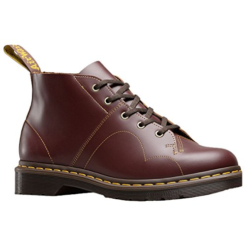 Dr. Martens Womens Church 5-Eyelet Leather Boots