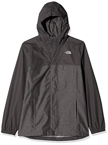 THE NORTH FACE Jungen Resolve Reflective Jacke, Graphite Grey Heather, L -