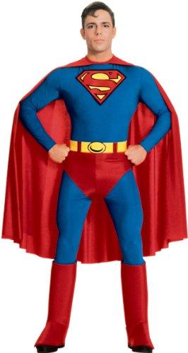 Brust Kostüm Superman - Fancy Me Superman Kostüm L