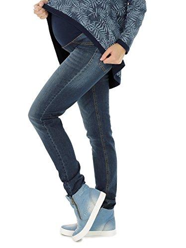 NITIS Schwangerschaftshose Maternity Jeans Zuza Umstandshose Damen Hose Straight 36L - XXL