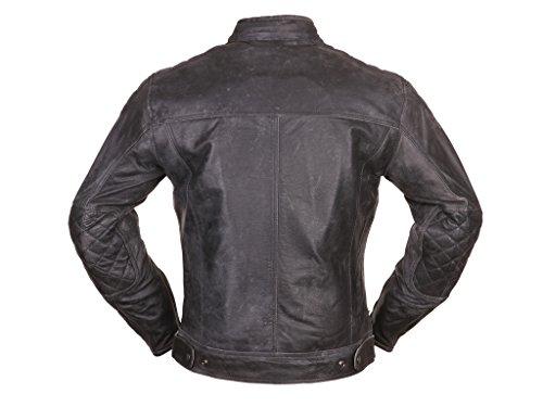 Modeka MEMBER Lederjacke Herren Motorrad Urban – schwarz Größe XL - 5