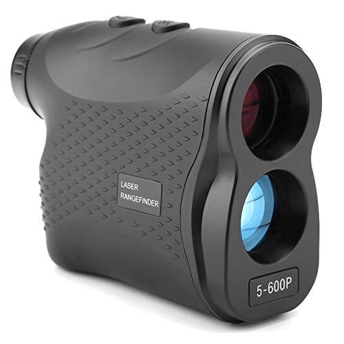 Laser Entfernungsmesser, Akozon LR600P 6X Wasserdichtes Golf-Teleskop LR600P Entfernungsmesser Entfernungshöhe Geschwindigkeitsmesser für Feature Bergsteigen Camping/Golfplatz/Kraft/Bauvermessung