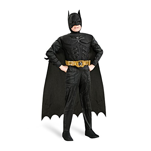 The Dark Knight Rises Deluxe Kinder Kostüm Batman (Kinder Batwoman Kostüme Für)
