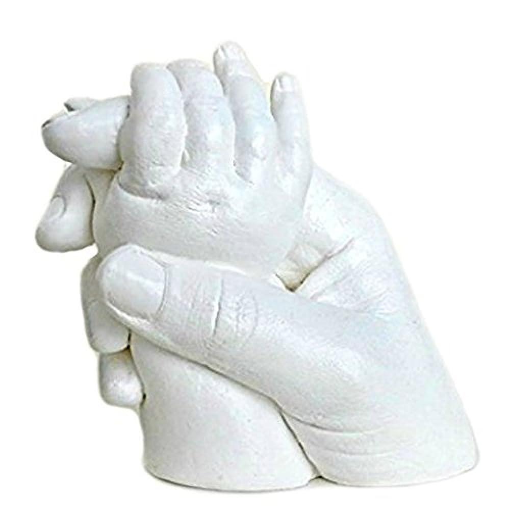 3D baby Gipsabdruck Handabdruck Fu/ßabdruck Gips-Set Bilderrahmen Geburt Geschenk