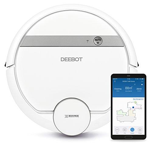 Ecovacs Robotics Deebot 900 - Smarte Steuerung mittels App und Alexa