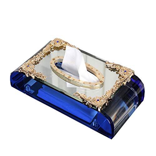 GWF Crystal Bookbox Deluxe Atmosphäre, europäische kreative Servietten, Box, Wohnzimmer,...