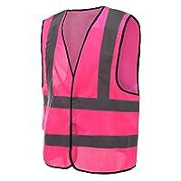 6 colors optional reflective vest High Visibility hi viz vis Executive Waistcoat(M-3XL)
