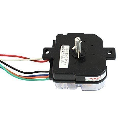 DealMux AC220V 3.5a 6 Fios 135 graus temporizador Rotary eixo da máquina de lavar -