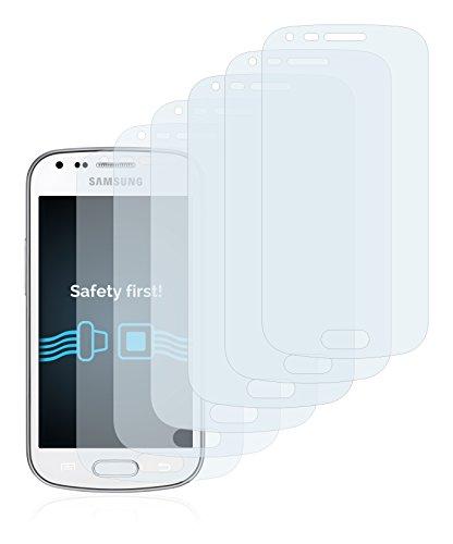 Savvies Pellicola Protettiva Compatibile con Samsung Galaxy Trend Plus S7580 Protezione Schermo [6 Pezzi]