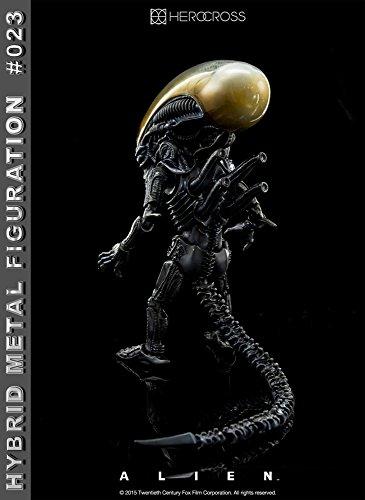 """[Configuracioen del metal hibrido """"Alien"""" # 023 altura extranjero de unos 14 centimetros pintado figura de accioen 5"""